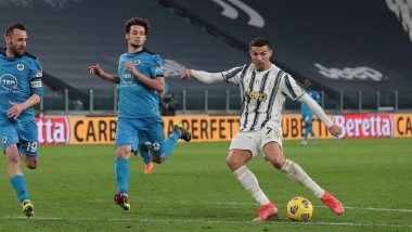Serie A 2020–21 Match Result: Cristiano Ronaldo Marked His 600th League Game With a Low-Strike As Juventus Ease Past Spezia 3–0