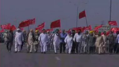 Farmers' Protest: Farmers Block Western Peripheral Expressway in Kundli as Their Agitation Enters 100th Day