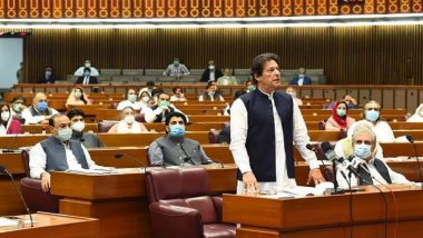 Imran Khan Wins Vote of Confidence in National Assembly of Pakistan, Secures 178 Votes
