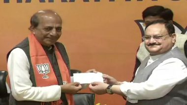 West Bengal Assembly Elections 2021: Dinesh Trivedi, Former TMC MP, Joins BJP