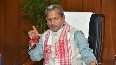 Uttarakhand CM Tirath Singh Rawat To Hold Press Conference at 9:30 PM in Dehradun Today