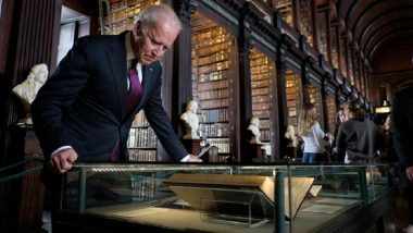 St Patrick's Day 2021: US President Joe Biden to Mark the Day, Praise Good Friday Accord