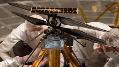 NASA Ingenuity Mars Helicopter Prepares for First Flight on April 8