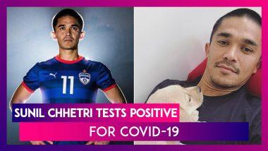 Sunil Chhetri Tests Positive For Coronavirus-Outbreak, The Indian Football Team Captain Says He's Feeling 'Fine'