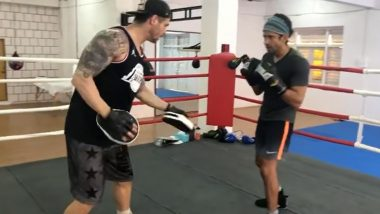 Toofaan: Farhan Akhtar Gives Sneak Peek into His Initial Days of Training for His Boxing Movie (Watch Video)