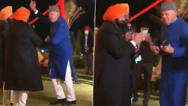 Farooq Abdullah, Amarinder Singh Dance to Mohammed Rafi Songs, Watch Viral Video