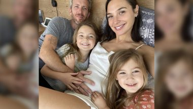 Gal Gadot Pregnant With Third Child, Flaunts Her Baby Bump in a Family Picture on Instagram!