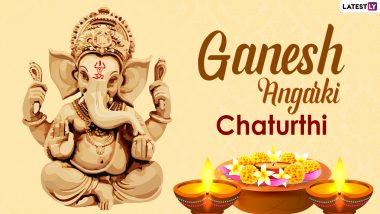 Angarki Sankashti Chaturthi 2021 Wishes, Greetings and HD Images: Share Ganpati Pics, Telegram Messages, Ganesha Quotes, Mantras, Chaturthi Photos & GIFs on the Auspicious Day