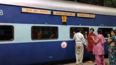 Western Railway Diverts Routes of Golden Temple Mail, Pashchim Superfast Express Between Mumbai And Amritsar Via Tarn Taran Due to Farmers Agitation