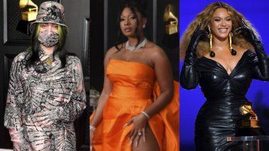 Grammys 2021: Billie Eilish, Megan Thee Stallion, Beyonce – Meet the Best Dressed Stars From the Awards Night!