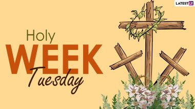 Holy Tuesday 2021 HD Images with Quotes, Sayings & Bible Verses: Send Messages, Psalms, Jesus Christ Photos & Telegram Pics to Loved Ones During Holy Week