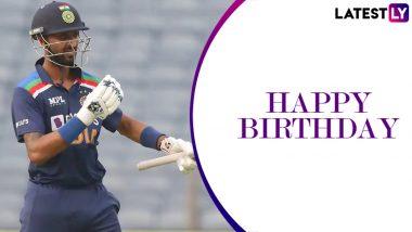 Happy Birthday Krunal Pandya: Brother Hardik Pandya, Dinesh Karthik Lead Cricket Fraternity in Wishing the All-rounder