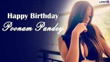 Poonam Pandey Hot Pics and Videos: As the XXX OnlyFans Queen Turns 30, Here Are Some of Her Raunchiest Looks