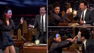 Holi 2021: Jimmy Fallon Shares A Throwback Video Of Priyanka Chopra Playing Holi With Him To Send Out Wishes To Everyone