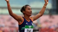 Hima Das Wins Women's 200m at IGP4, Misses 2020 Tokyo Olympic Qualification Time by 0.08 Seconds