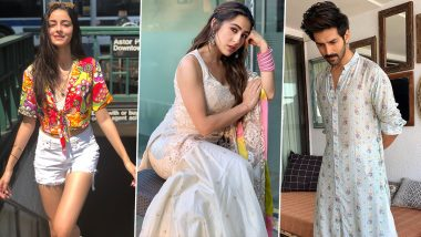 Holi 2021 Outfit Ideas: From Ananya Panday, Sara Ali Khan to Kartik Aaryan – 6 Celeb-Inspired Looks That'll Help You Look Fab This Festival!