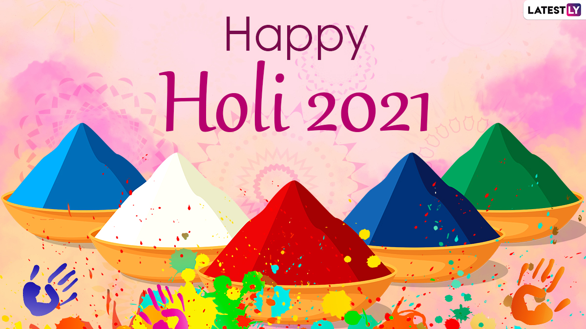 Festivals & Events News | Holi 2021 Wishes in Advance, WhatsApp Stickers &  Greetings For the Festival of Colours | 🙏🏻 LatestLY