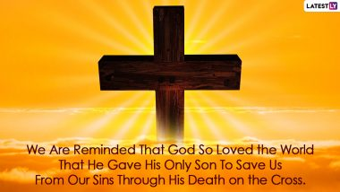 Holy Week 2021 Messages, Palm Sunday Quotes, Thoughts, Bible Verses, Images and HD Wallpapers To Honour Passion of Jesus Christ