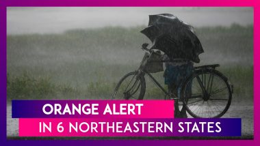 Orange Alert In 6 Northeastern States Till March 31; Rain, Thunderstorms Expected