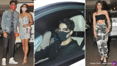 Ibrahim Ali Khan Birthday Bash: Sara Ali Khan, Aryan Khan, Alaya F and Others Attend the Party in Style (View Pics)