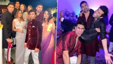 Ibrahim Ali Khan Is a Royal 'Munda' at Punjab CM Amarinder's Granddaughter's Wedding (See Viral Pics)