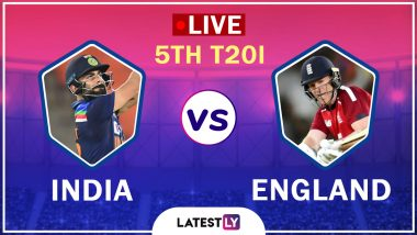 India vs England Highlights of 5th T20I 2021: IND Beat ENG by 36 Runs, Win Series 3-2