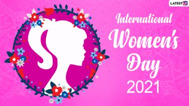 Happy Women's Day 2021 Images & HD Wallpapers for Free Download Online: Wish on International Women's Day With WhatsApp Messages and GIF Greetings