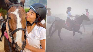 Ram Setu: Is Jacqueline Fernandez Mastering Horse-Riding for Akshay Kumar Starrer? (Watch Video)