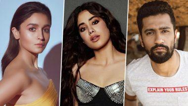 Janhvi Kapoor Turns 24! Alia Bhatt, Vicky Kaushal, Khushi Kapoor and Others Wish the Roohi Actress on Her Birthday