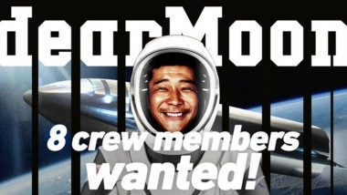 Free Moon Ride: Japanese Billionaire Yusaku Maezawa Seeks 8 People for Moon Voyage on SpaceX Starship Rocket
