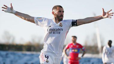 Real Madrid 2–1 Elche, Goal Video Highlights: Karim Benzema's Brace Seals Comeback Win for La Liga Champions