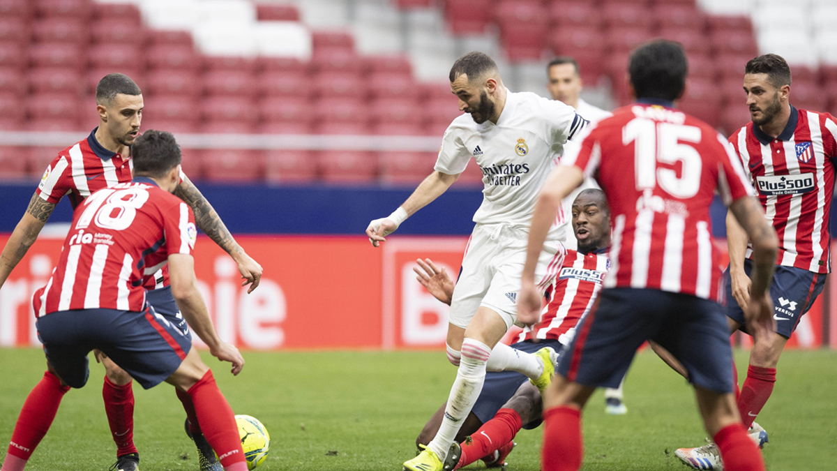 Atlético Madrid 1–1 Real Madrid, La Liga 2020–21 Goal Video Highlights:  Karim Benzema's Late Equalizer Title Race Keep Alive - Reportr Door