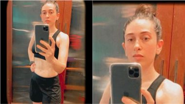 Karisma Kapoor Flaunts Washboard Abs in New Mirror Selfie, View Pic