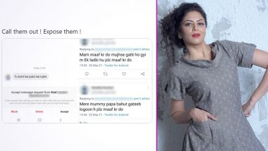 Kavita Kaushik Exposes Trolls on Twitter, Shares Screenshots of Abusive Texts She Received in Her DMs
