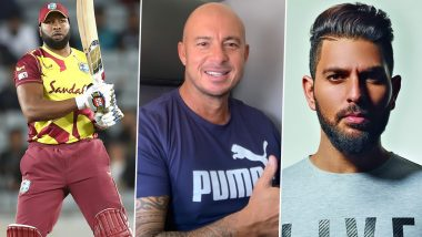 Kieron Pollard Smashes 6 Sixes Against Sri Lanka: Yuvraj Singh, Herschelle Gibbs Welcome West Indies Captain to Exclusive Club