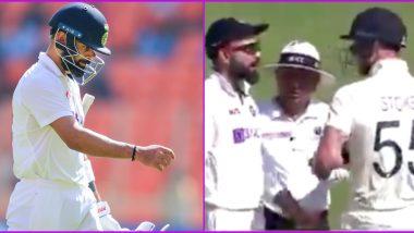 Ben Stokes 'Completes Revenge' After Dismissing Virat Kohli for a Duck