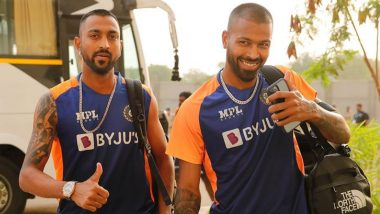Brothers Who Have Played International Cricket for India: From Nayudus to Pandyas, Check Out Full List