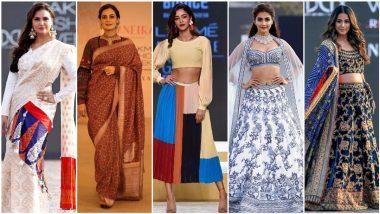 FDCI X Lakme Fashion Week 2021: Ananya Panday, Hina Khan, Pooja Hegde, Dia Mirza, Aahana Kumra, Lara Dutta Dazzle The Ramp