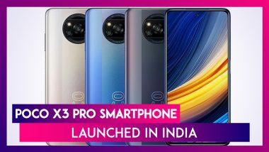 Poco X3 Pro with Quad Rear Cameras Launched in India; Check Prices, Features, Variants & Specifications