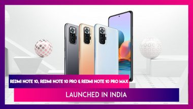 Redmi Note 10 Series Launched in India from Rs 11,999; Check Prices, Features, Variants & Specifications