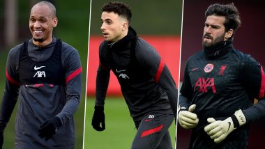Liverpool Injury Update: Fabinho, Diogo Jota and Alisson Expected To Be Ready For Chelsea Clash