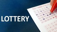 Nagaland Dear Ostrich Evening Saturday Weekly Lottery Sambad Results Of April 10, 2021, Live Streaming: Watch Lucky Draw Winners of Nagaland State Lottery Today