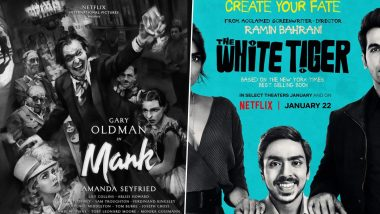 Oscars 2021 Nominations: MANK Leads the Race, Priyanka Chopra's The White Tiger Gets a Nod; Check Out the Complete List of Nominees for 93rd Academy Awards