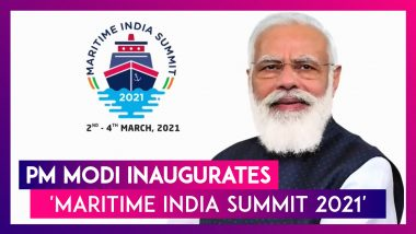 Maritime India Summit 2021: PM Narendra Modi Bats For Private Investment In Port Sector