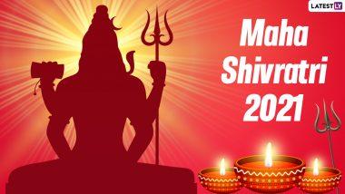 Mahamrityunjay Mantra for Maha Shivratri 2021: Chant This Holy Mantra to Please Lord Shiva On Mahashivratri, Watch Bhakti Geet Video