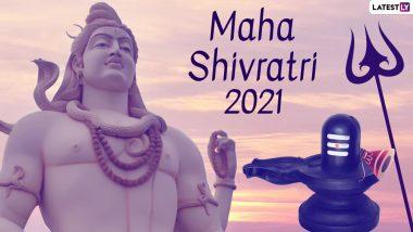 Mahashivratri 2021 Live Aarti Streaming Online Dates & Timings: From Shree Mahakaleshwar Mandir in Ujjain to Shri Kashi Vishwanath Temple in Varanasi, Watch Live Darshan of Lord Shiva From Famous Temples