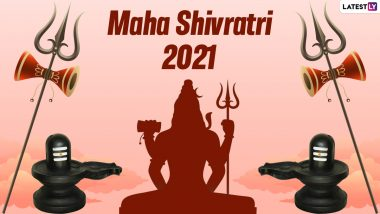 Maha Shivratri 2021 Wishes & Greetings: WhatsApp Messages, HD Images, Om Namah Shivay Mantra, Facebook Status and SMS To Send to Family and Friends