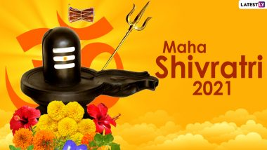 Happy Mahashivratri 2021 HD Images and Wallpapers For Free Download Online: WhatsApp Sticker Wishes, Maha Shivratri Facebook Messages, Signal Greetings and Telegram Photos For Friends & Family