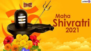 Shiv Amritwani Bhajan Song For Mahashivratri 2021: Listen to This Bhakti Geet & Celebrate the Great Night of Shiva With Devotion (Watch Video)