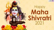 Happy Maha Shivratri 2021 Wishes: WhatsApp Stickers, Shivaratri Messages, Lord Shiva HD Images, Facebook Greetings and Telegram Photos to Celebrate the Great Night of Shiva